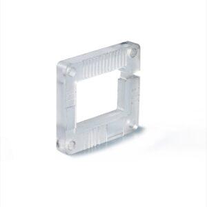 Plastic part machining