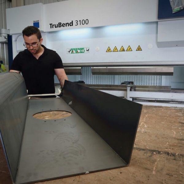 Large Metal Folding Norfolk